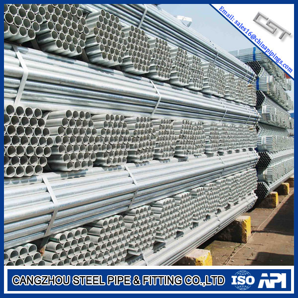 Hot Dipping Galvanized pipe and electrogalvanizing pipe