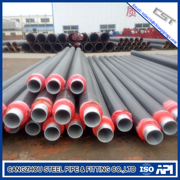 ASTM A106 2mm Carbon Steel Pre-Insulation Pipe