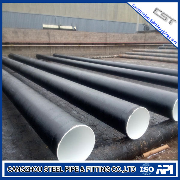 Sch5s ASTM A106 Stainless Steel SSAW Steel Pipe