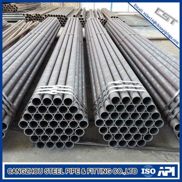 ASTM A106B API 5L GR.B PSL1 Steel Pipe