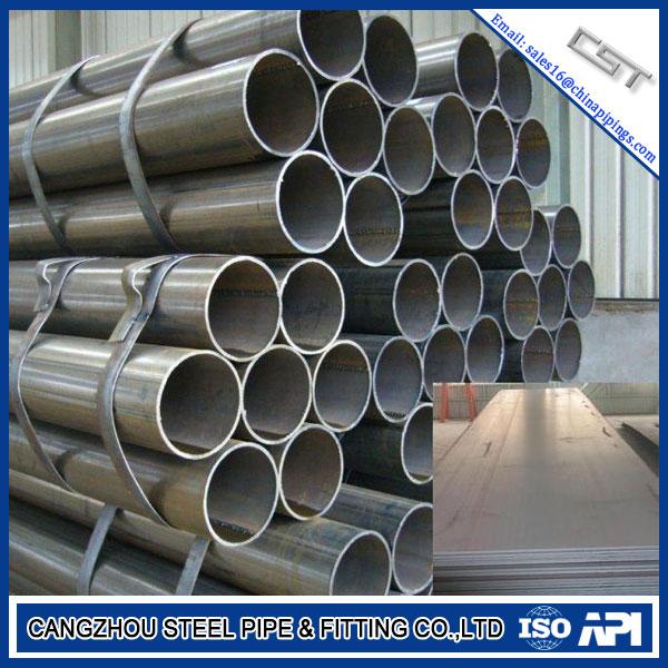 ASTM A53 GR.B Carbon Steel ERW Steel Pipe