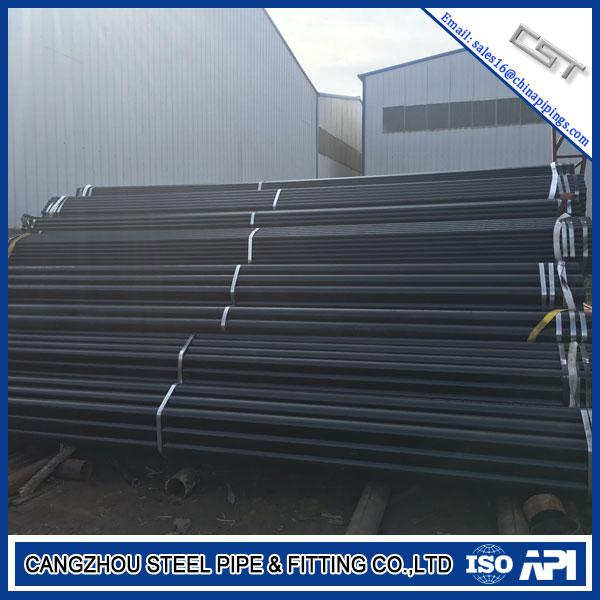 API 5L PSL1 SCH40 ASTM A53 Grade A 1/2