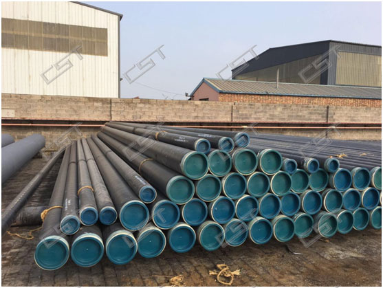 3PE anticorrosion insulated steel pipe